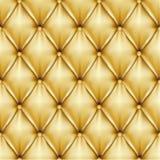 Gouden leer Stock Foto