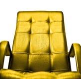 Gouden leunstoelconcept Royalty-vrije Stock Foto