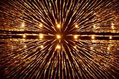 Gouden licht Stock Afbeeldingen