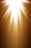 Gouden licht Royalty-vrije Illustratie