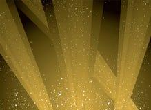 Gouden licht stock illustratie