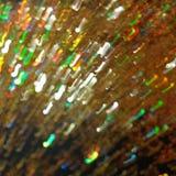 Gouden Lichte golven die rond de atmosfeer dansen royalty-vrije stock foto