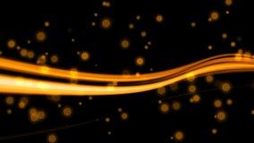 Gouden Lichte Stroken vector illustratie