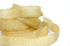 Gouden lint 2 Royalty-vrije Stock Foto's