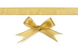 Gouden lint Stock Foto