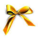 Gouden lint voor een gift Royalty-vrije Illustratie