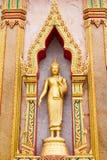 Gouden Lord Boedha Stock Afbeelding