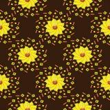 Gouden lotusbloem Royalty-vrije Stock Foto's