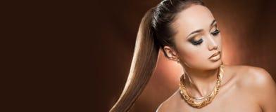 Gouden luxe Stock Foto's
