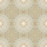 Gouden luxe naadloze vectorachtergrond Stock Afbeelding