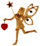 Gouden magisch elf royalty-vrije stock foto's