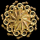 gouden mandala royalty-vrije illustratie