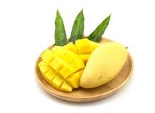 Gouden Mango Royalty-vrije Stock Fotografie