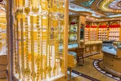 Gouden markt in Duba Stock Afbeelding