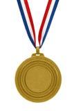 Gouden medaille Stock Afbeelding