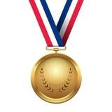 Gouden medaille Royalty-vrije Stock Foto