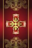 Gouden Medaillon Royalty-vrije Stock Foto