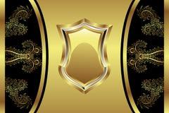 Gouden Medaillon Royalty-vrije Stock Fotografie