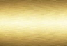 Gouden metaalachtergrond vector illustratie