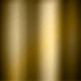 Gouden metaalachtergrond Stock Foto's
