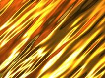 Gouden metaalachtergrond stock illustratie