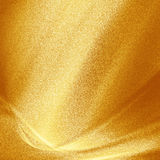 Gouden metaalachtergrond gestippelde textuur Stock Fotografie