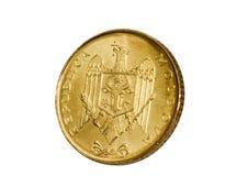 Gouden modern muntstuk Stock Fotografie