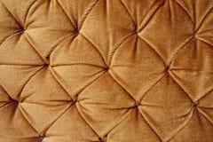 gouden modieuze stof met knoppen Royalty-vrije Stock Foto's
