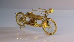 Gouden motor Stock Foto's