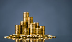 Gouden muntstuk royalty-vrije stock foto's