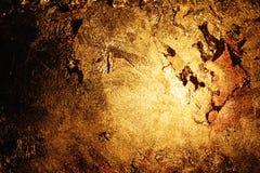 Gouden muur stock afbeelding