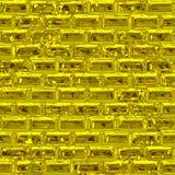 Gouden muur (Naadloze textuur) Royalty-vrije Stock Foto's