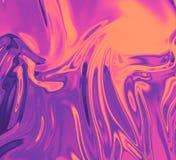Gouden nam textuur van de fonkelings de glanzende folie toe Koper vlot glanzend metaal In metaalachtergrond voor vlieger, aanplak royalty-vrije illustratie