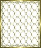 Gouden net Stock Afbeeldingen