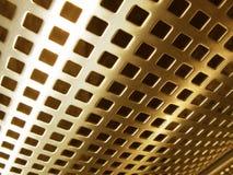 Gouden netwerk Stock Foto's