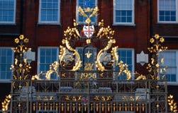 Gouden omheining Royalty-vrije Stock Foto