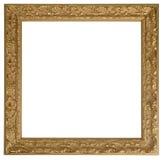 Gouden omlijsting Stock Fotografie