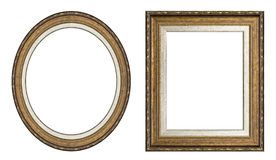 Gouden omlijstingen Royalty-vrije Stock Fotografie