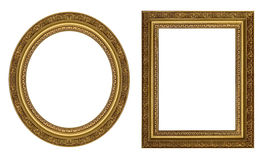 Gouden omlijstingen Royalty-vrije Stock Afbeeldingen