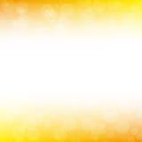 Gouden onduidelijk beeld abstracte achtergrond Royalty-vrije Stock Foto