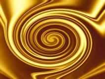 Gouden Ontwerp Als achtergrond Stock Afbeelding