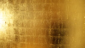 Gouden Oppervlakte Royalty-vrije Stock Afbeelding
