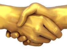 Gouden Overeenkomst Royalty-vrije Stock Afbeeldingen
