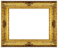Gouden overladen frame royalty-vrije stock fotografie