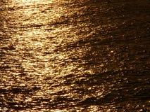 Gouden overzees Stock Afbeelding