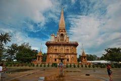Gouden pagode Royalty-vrije Stock Afbeelding