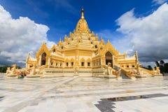 Gouden pagode. Myanma royalty-vrije stock fotografie