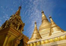 Gouden Pagode Shwedagon Stock Fotografie