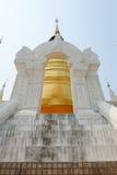 Gouden pagode in tempel van wat de suan dok, chiang MAI Stock Afbeelding
