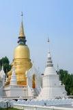 Gouden pagode in tempel van wat de suan dok, chiang MAI Stock Foto